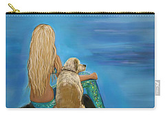 Loyal Mermaids Friend Carry-all Pouch