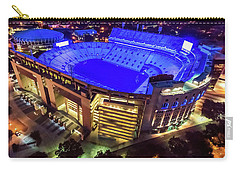 Carry-all Pouch featuring the photograph Lsu Blue by Andy Crawford