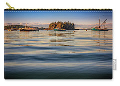 Carry-all Pouch featuring the photograph Lubec Harbor by Rick Berk