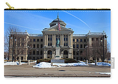 Carry-all Pouch featuring the photograph Lucas County Courthouse I by Michiale Schneider