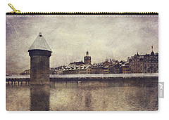 Lucerna, Kapellbrucke Carry-all Pouch by Vittorio Chiampan