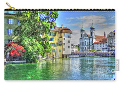 Carry-all Pouch featuring the photograph Lucerne by Adrian LaRoque