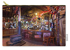 Carry-all Pouch featuring the photograph Luckenbach by Tim Stanley