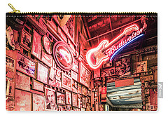 Luckenbach Wall Of Fame Carry-all Pouch