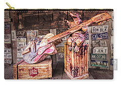 Luckenbach's Guitar-playing Armadillo Carry-all Pouch