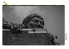 Carry-all Pouch featuring the photograph Lucky Strike Building  by Melissa Messick
