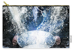 Carry-all Pouch featuring the photograph Lucky Strike by Jorgo Photography - Wall Art Gallery