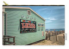 Carry-all Pouch featuring the photograph Luckys At Jenkinsons South by Kristia Adams