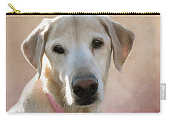 Lucy In Pink Carry-all Pouch