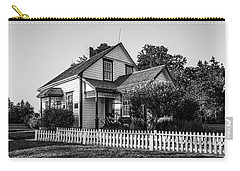 Carry-all Pouch featuring the photograph Lucy Maud Montgomery Homesite by Chris Bordeleau