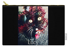 Lucy The Cat Carry-all Pouch