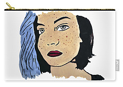 Lucy's Self Portrait Carry-all Pouch