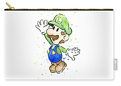 Luigi Watercolor Carry-all Pouch