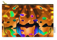 Carry-all Pouch featuring the digital art Luminence by Ron Bissett