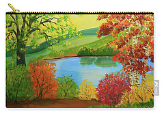 Luminous Colors Of Fall Carry-all Pouch