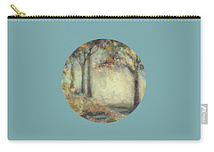 Carry-all Pouch featuring the painting Luminous Landscape by Mary Wolf
