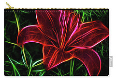 Luminous Lily Carry-all Pouch
