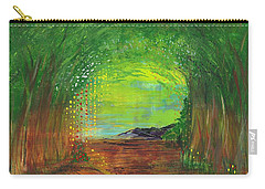 Luminous Path Carry-all Pouch