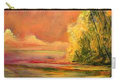 Luminous Sunset 2-16-06 Julianne Felton Carry-all Pouch