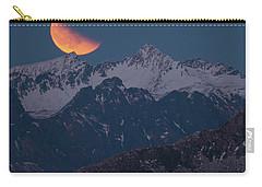 Lunar Eclipse In Lofoten Carry-all Pouch