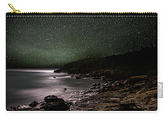 Lunar Eclipse Over Great Head Carry-all Pouch by Brent L Ander