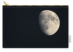 Carry-all Pouch featuring the photograph Lunar Surface by Angela Rath