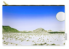 Lunar Wilderness Carry-all Pouch by Celestial Images