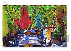 Lunch In Wine Country Carry-all Pouch by Kirt Tisdale