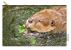 Carry-all Pouch featuring the photograph Lunch Time by Sean Griffin