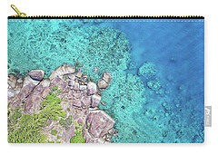 Carry-all Pouch featuring the photograph Luncheon Bay, Hook Island by Keiran Lusk