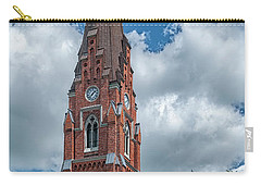 Carry-all Pouch featuring the photograph Lund All Saints Church by Antony McAulay
