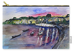 Carry-all Pouch featuring the painting Luogo Mergellina, Napoli by Clyde J Kell