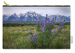 Lupine Beauty Carry-all Pouch by Chad Dutson