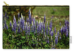 Lupine In Montana 2 Carry-all Pouch