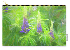 Lupine Light Carry-all Pouch