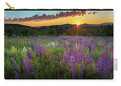 Carry-all Pouch featuring the photograph Lupine Lumination by Bill Wakeley