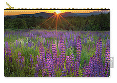 Lupine Lumination Square Carry-all Pouch