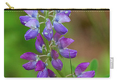 Carry-all Pouch featuring the photograph Lupine by Sean Griffin