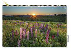 Lupine Sunrise Carry-all Pouch