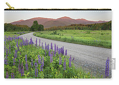 Lupine Sunset Road Carry-all Pouch