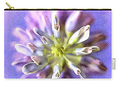 Lupine Hearts Unfurled Shabby Chic Carry-all Pouch