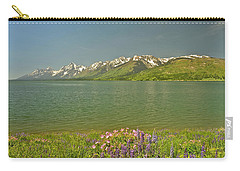 Lupines In The Tetons Carry-all Pouch