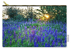 Lupins In The Sunbeam Carry-all Pouch