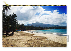 Luquillo Beach, Puerto Rico Carry-all Pouch by The Art of Alice Terrill