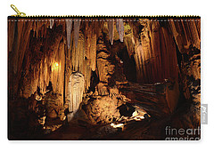 Luray Dark Caverns Carry-all Pouch by Paul Ward