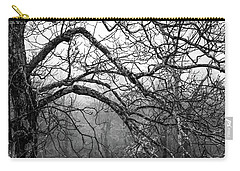 Carry-all Pouch featuring the photograph Lure Of Mystery by Karen Wiles