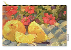 Luscious Lemons Carry-all Pouch