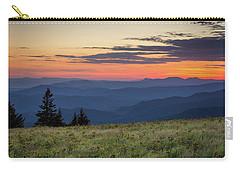 Lush Blue Ridge Mountain Sun Rise Carry-all Pouch