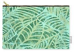 Lush Meadow Fossil Leaves Carry-all Pouch