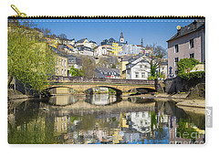 Luxembourg City Carry-all Pouch by JR Photography